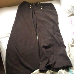 Larry Levine pants sailor brown 8